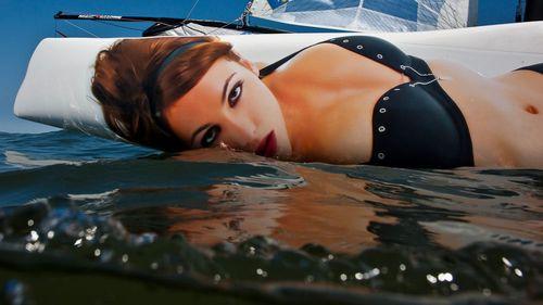 PUB flottante
