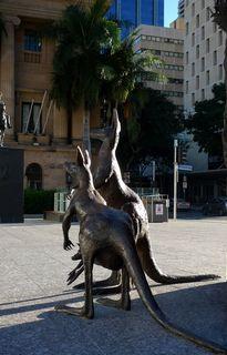 Kangoo en bronze