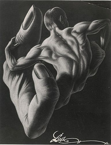 Man Hand 1962 pencil